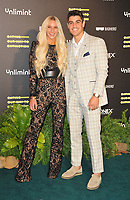 """Lucie Donlan and Luke Mabbott at the """"Eating Our Way To Extinction"""" world film premiere, Odeon Luxe Leicester Square, Leicester Square, on Wednesday 08th September 2021, in London, England, UK. <br /> CAP/CAN<br /> ©CAN/Capital Pictures"""