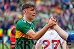 David Clifford, Kerry celebrates after the All Ireland Senior Football Semi Final between Kerry and Tyrone at Croke Park, Dublin on Sunday.