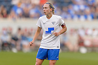 Bridgeview, IL - Saturday June 18, 2016: Whitney Engen during a regular season National Women's Soccer League (NWSL) match between the Chicago Red Stars and the Boston Breakers at Toyota Park.