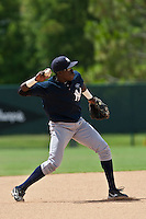 Anderson Felix of the Gulf Coast League Yankees at the ESPN Wide World of Sports Complex in Orlando, Florida July 23 2010. Photo By Scott Jontes/Four Seam Images