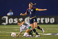 United States (USA) defender Christie Rampone (3). The women's national team of the United States (USA) defeated the Republic of Ireland (IRL) 1-0 during an international friendly at Giants Stadium in East Rutherford, NJ on September 17, 2008. Photo by Howard C. Smith/isiphotos.com