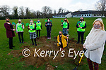 Presentation Secondary Tralee planting a tree for National Tree week at the school on Friday. Front right: Chrissie Kelly (Principal). Kneeling l to r: Moe O'Connor. Back l to r: Sheila O'Connell (Deputy Principal), Emma Hussey, Sinead Forrest, Niamh O'Mahoney, Emma Flanagan, Chloe Stewart and Courtney Harnett.