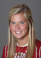 STANFORD, CA - OCTOBER 29:  Jen Lang of the Stanford Cardinal women's lacrosse team poses for a headshot on October 29, 2009 in Stanford, California.