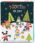 Dreams, CHRISTMAS ANIMALS, WEIHNACHTEN TIERE, NAVIDAD ANIMALES, paintings+++++,MEDAX80/1,#xa# ,jack dreams