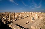 Jordan, Amman. Remains of a Byzantine Church from the 6th century on Citadel Hill&#xA;<br />
