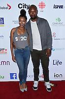 Sonequa Martin-Green + husband Kenric Green @ the Stand Up To Cancer 2016 held @ the Walt Disney Concert Hall. September 9, 2016