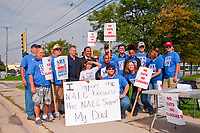 Rally to Save the Public Post Office Palatine Illinois 10-8-18