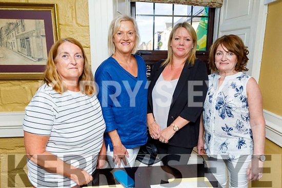 Mary Young, Joan Durney, Theresa Kelly and Trish O'Brien from Tralee enjoying the evening in the Brogue Inn on Friday.