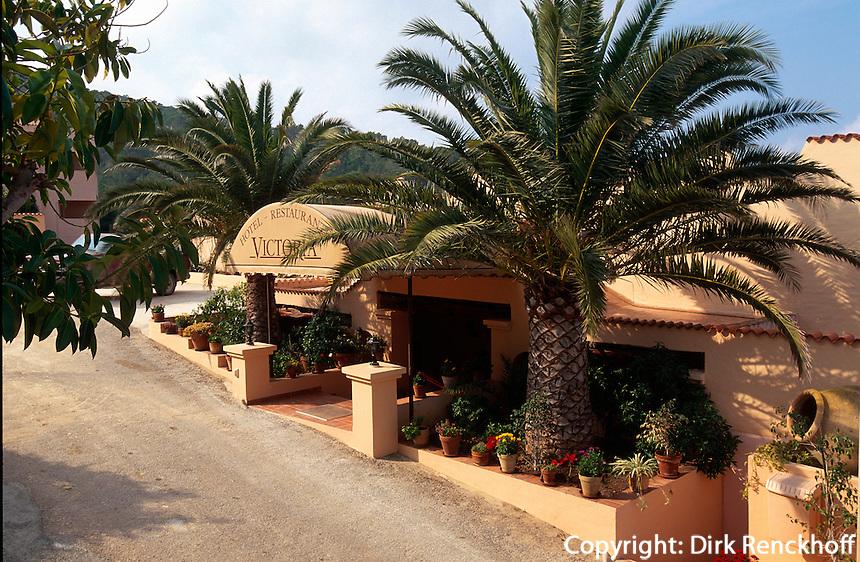 Spanien, Balearen, Ibiza, Hotel Victoria in Port de Torrent