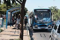 Campinas - SP, 27/01/2020 - Campinas (SP), 27/01/2020 - Transito - Transito intenso devido a obras no BRT e o primeiro dia de volta as aulas em algumas escolas particulares, na manha desta segunda-feira (27), entre a av Prestes Maia e Av. Joao Jorge, no centro da cidade de Campinas (SP),. Foto: Denny Cesare/Codigo 19 (Foto: Denny Cesare/Codigo 19/Codigo 19)