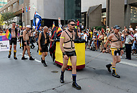 Montreal gay Pride, August 16, 2015<br /> <br /> Photo :  Agence Quebec Presse