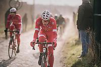 Kenneth Vanbilsen (BEL/Cofidis)<br /> <br /> 50th GP Samyn 2018<br /> Quaregnon > Dour: 200km (BELGIUM)