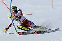20th February 2021; Cortina d'Ampezzo, Italy; FIS Alpine World Ski Championships, Women's Slalom   Katharina Liensberger (AUT)