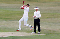Matt Quinn of Essex in bowling action during Essex CCC vs Kent CCC, Bob Willis Trophy Cricket at The Cloudfm County Ground on 1st August 2020