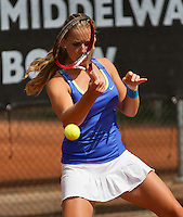 10-08-13, Netherlands, Rotterdam,  TV Victoria, Tennis, NJK 2013, National Junior Tennis Championships 2013,  Inger van  Dijkman<br /> <br /> Photo: Henk Koster