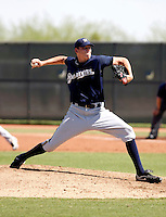 Blake Billings - Milwaukee Brewers 2009 Instructional League.Photo by:  Bill Mitchell/Four Seam Images..