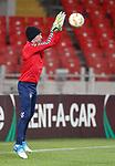 07.11.18 Rangers training at the Spartak Stadium, Moscow: Allan McGregor