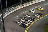 #18: Riley Herbst, Joe Gibbs Racing, Toyota Supra Monster Energy and #07: Gray Gaulding, SS Green Light Racing, Chevrolet Camaro