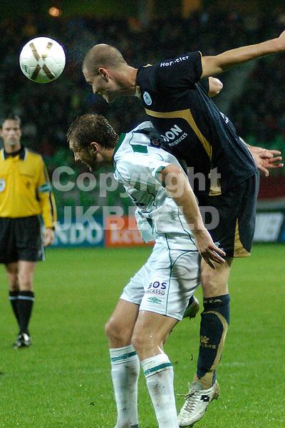 groningen - sparta  eredivisie seizoen 2007-2008 29-09- 2007schenkel kopt voor levchenko *** Local Caption ***