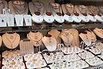 Belgium, Antwerp: Diamond shop window