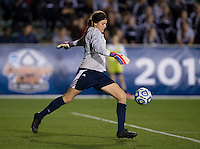 Katelyn Rowland. UCLA advanced on penalty kicks after defeating Virginia, 1-1, in regulation time at the NCAA Women's College Cup semifinals at WakeMed Soccer Park in Cary, NC.