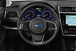 Car pictures of steering wheel view of a 2019 Subaru Outback Premium 5 Door Wagon Steering Wheel