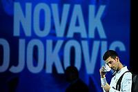 18th November 2020, O2, London, England; Novak Djokovic , Serbia, 2020 ATP Finals , London