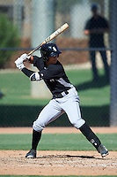 Chicago White Sox Mitch Roman (6) during an Instructional League game against the San Francisco Giants on October 10, 2016 at the Camelback Ranch Complex in Glendale, Arizona.  (Mike Janes/Four Seam Images)