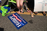 May 4, 2008. Morganton, NC.. Just 2 days before the North Carolina primary, former president Bill Clinton campaigned across rural western North Carolina, stumping for his wife. Senator Hillary Clinton, in her drive for rural and working class votes.