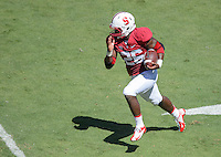 Stanford, California - Saturday, August 30, 2014: Stanford defeats UC Davis 45-0 at Stanford Stadium.