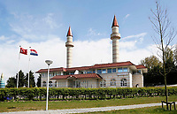 Nederland Zaandam 2017. De Sultan Ahmet Moskee. De Turkse moskee staat in de wijk Poelenburg .   Foto Berlinda van Dam / Hollandse Hoogte