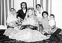 Iran 1970  In the village of Sinjan near Oshnavieh, in the middle,Parwin, sister of Hassan Shatavi with around her from left to right, Manijeh, sister of Abdul Rahman Ghassemlou, Mahmoud, Ziba and the children, Sima, Manousher and Mahine<br />