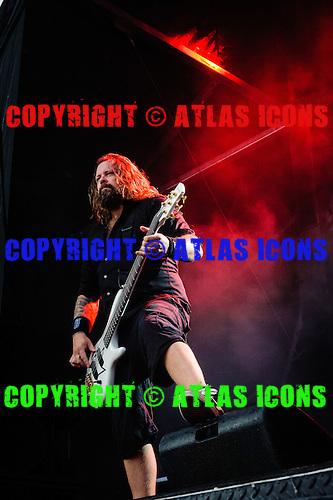 IN FLAMES, LIVE, 2012, <br /> PHOTOCREDIT:  IGOR VIDYASHEV/ATLASICONS