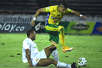 NEIVA- COLOMBIA,-02-05-2021:Atlético Huila vs Leones  durante partido por la apertura de los cuadrangulares del Torneo BetPlay DIMAYOR 2021 jugado en el estadio Guillermo Plazas Alcid de la ciudad de Neiva/ Atlético Huila and Leones during the opening match of the home runs of the BetPlay DIMAYOR 2021 Tournament played at the Guillermo Plazas Alcid stadium in  Neiva city. Photo: VizzorImage. /  Tatiana Ramirez  / Contribuidora