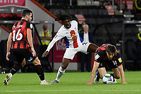 Harry Arter of Bournemouth right evades the tackle from Eberechi Eze of Crystal Palace during AFC Bournemouth vs Crystal Palace, Carabao Cup Football at the Vitality Stadium on 15th September 2020