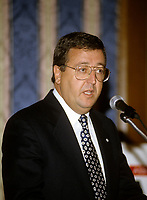 Montreal (Qc) Canada  file Photo - 1997 -  - Claude Brochu, Montreal Expos<br /> <br /> PHOTO :  Agence Quebec Presse