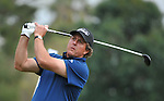 Feb 22, 2009: Phil Mickelson tees of the second hole during his win of the Northern Trust Open 2009 in the Pacific Palisades, California.