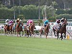 April 9, 2011.Horses leave the gate for The Providencia Stakes as Santa Anita Park, Arcadia, CA