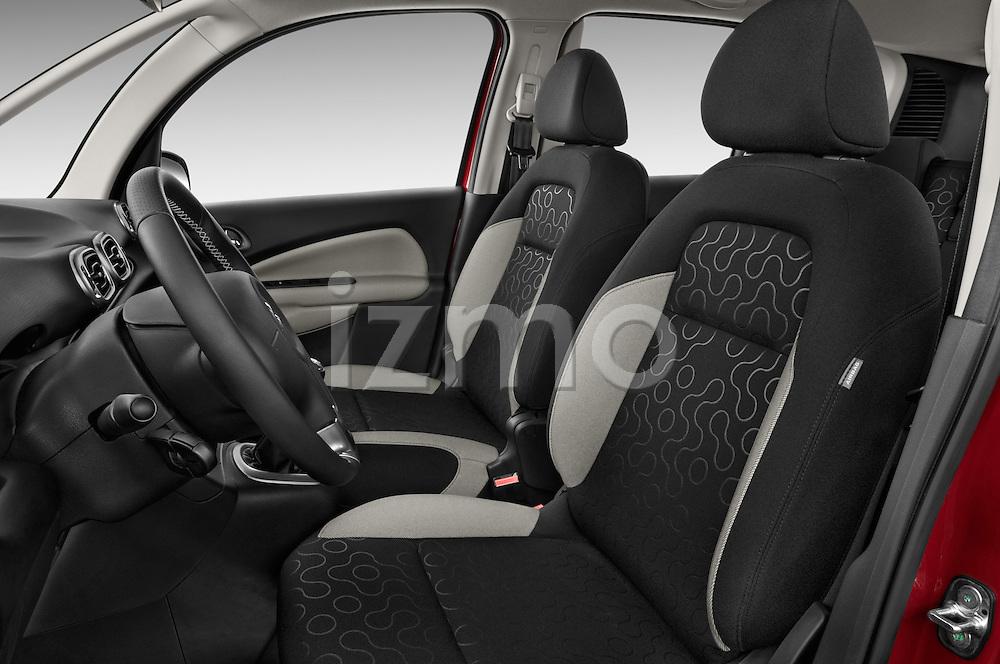 Front seat view of a 2012 Citroen C3 PICASSO Millenium 5 Door Mini Mpv 2WD