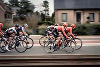 Jeanne Korevaar (NED/CCC - Liv) full speed ahead<br /> <br /> AG Driedaagse Brugge-De Panne 2020 (1.WWT)<br /> 1 day race from Brugge to De Panne (156km) <br /> <br /> ©kramon