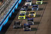 NASCAR Camping World Truck Series <br /> Lucas Oil 150<br /> Phoenix Raceway, Avondale, AZ USA<br /> Friday 10 November 2017<br /> Noah Gragson, Switch Toyota Tundra, Christopher Bell, JBL Toyota Tundra, start<br /> World Copyright: Michael L. Levitt<br /> LAT Images