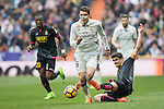 Mateo Kovacic of Real Madrid runs with the ball during the match Real Madrid vs RCD Espanyol, a La Liga match at the Santiago Bernabeu Stadium on 18 February 2017 in Madrid, Spain. Photo by Diego Gonzalez Souto / Power Sport Images