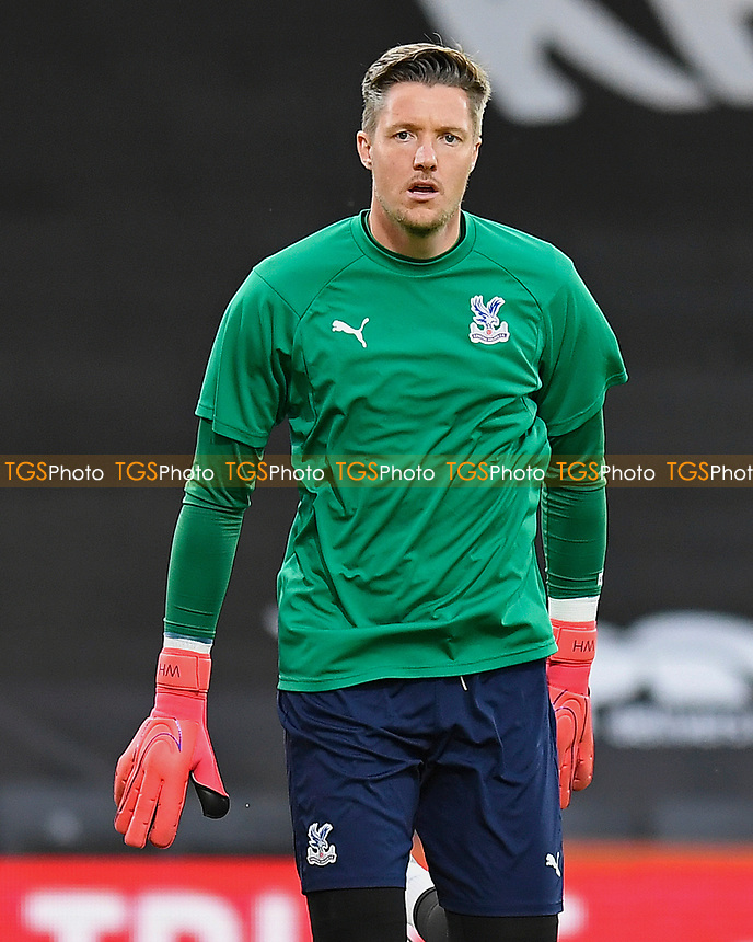 Wayne Hennessey of Crystal Palace warms up during AFC Bournemouth vs Crystal Palace, Carabao Cup Football at the Vitality Stadium on 15th September 2020