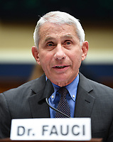 Director of the National Institute for Allergy and Infectious Diseases Dr. Anthony Fauci testifies before the House Committee on Energy and Commerce on the Trump Administration's Response to the COVID-19 Pandemic, on Capitol Hill in Washington, DC on Tuesday, June 23, 2020.    <br /> Credit: Kevin Dietsch / Pool via CNP/AdMedia
