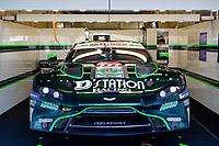 #777 D' STATION RACING - Aston Martin Vantage AMR: Satoshi Hoshino - Fuji Tomonobu - Andrew Watson , 24 Hours of Le Mans , Saturday Set Up, Circuit des 24 Heures, Le Mans, Pays da Loire, France