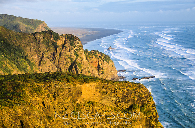 Looking toward the Whatipu - south of Piha - West Auckland, New Zealand