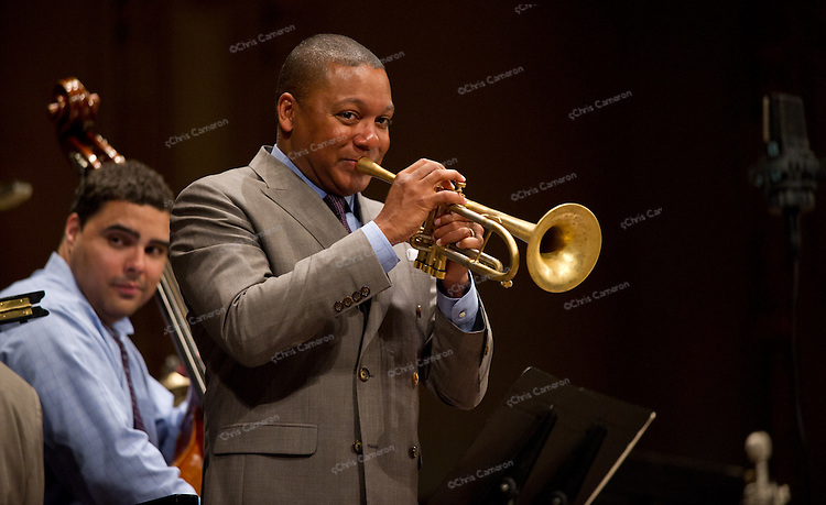 Wynton Marsalis plays an encore at the Orpheum Theatre, Vancouver June 26, 2011 in The TD Vancouver International Jazz Festival