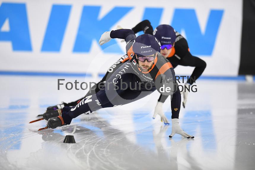 SCHAATSEN: HEERENVEEN: 13-12-2020, IJsstadion Thialf, Shorttrack, NK Shorttrack Afstanden, Daan Breeuwsma, ©foto Martin de Jong