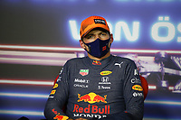 July 3rd 2021; F1 Grand Prix of Austria, qualifying sessions;  VERSTAPPEN Max (ned), Red Bull Racing Honda RB16B celebrates taking pole after the  2021 Austrian Grand Prix, 9th round of the 2021 FIA Formula One World Championship -