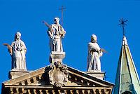 Detail Chiesa di San Vincenzo, Vicenza, Venetien-Friaul, Italien, Unesco-Weltkulturerbe